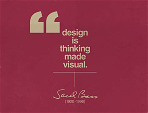 design is thinking made visual meaning so what do you do