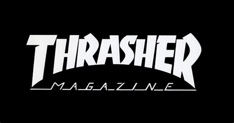 Kaos Murah Thrasher Font Burn thrasher logo wallpaper wallpapersafari