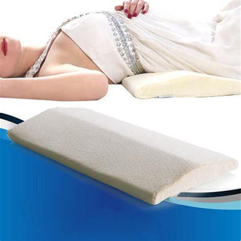 memory foam back lumbar support sleeping cushion
