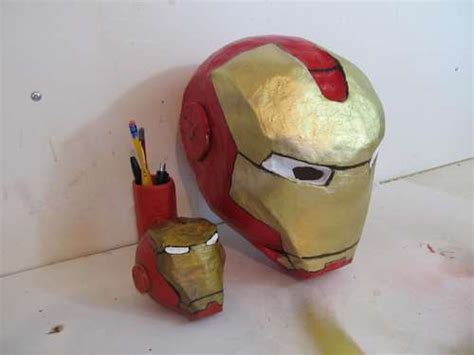 How To Make Iron Helmet With Paper - easy paper mache astronaut helmet pics about space