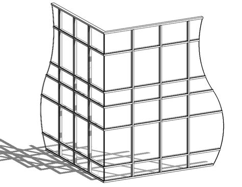 butt glazed curtain wall revit oped curtain wall corner butt glazing condition