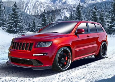 Jeep Srt Custom Hennessey Jeep Grand Srt8