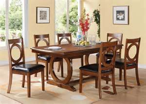 Dining Rooms Outlet by Acme Furniture Kaiden 7 Piece Rectangular Dining Set In