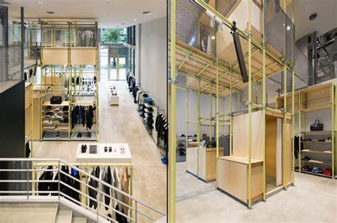 designboom store en route store by schemata architects ginza japan