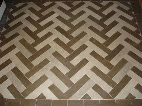 Kitchen Backsplash Ceramic Tile Herringbone Tile Pattern New Jersey Custom Tile