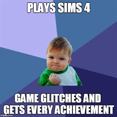 4 Picture Meme - sims 4 meme memes