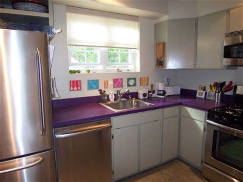 Purple Laminate Countertops by Home Interior Design Living Room Design Seeing Purple