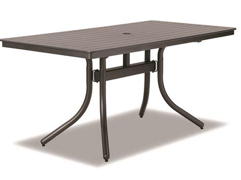 Telescope Casual Marine Grade Polymer 64 X 32 Dining Table Marine Dining Table