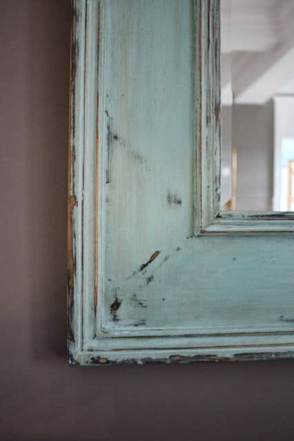 diy chalk paint mirror how to distress a mirror using chalk paint this is a