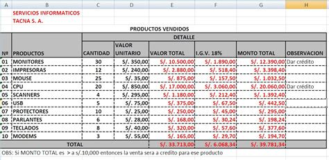planilla excel recibo de sueldo personal servicio calculando con el programa excel 2013