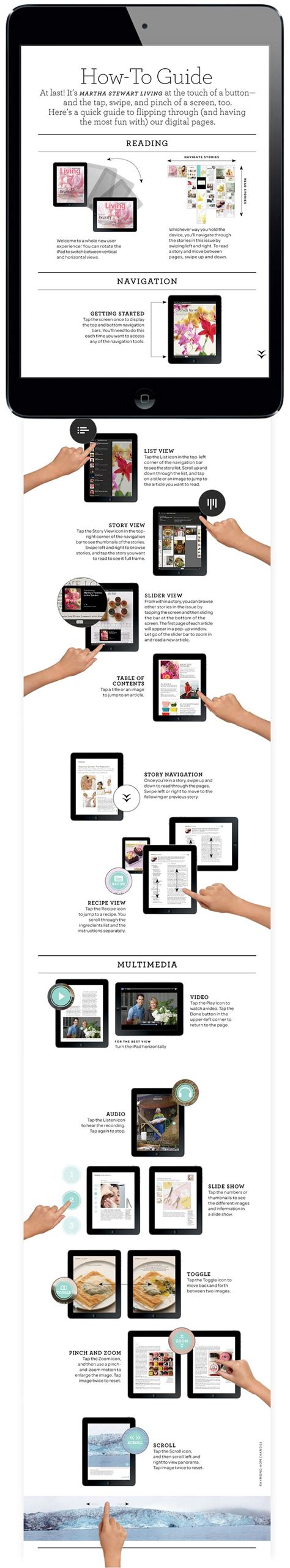ipad layout design guidelines navigation how to guide martha stewart living magazine