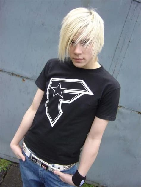 blonde emo hairstyles for guys new emo haircuts for boys