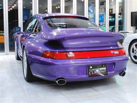 purple porsche 911 turbo porsche 911 turbo 993 violet blue metallic porsche