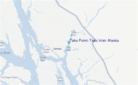 Juneau Tide Table by Taku Point Taku Inlet Alaska Tide Station Location Guide