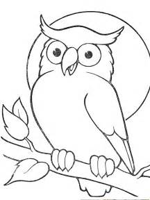 Owl Outlines Drawings by Outline Owl Sitting On Branch Sle Tattoos Branch And Owl