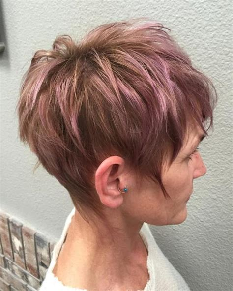 show soft lavender hair color for women 60 years ol 80 classy and simple short hairstyles for women over 50