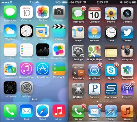 3d Timbul Iphone 5 perbandingan tilan ios 6 dan ios 7 ipanduan