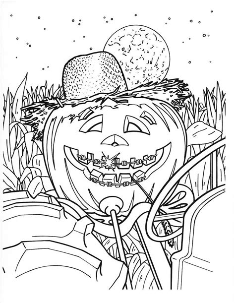 detailed pumpkin coloring page 84 best icolor quot halloween ii quot detailed images on