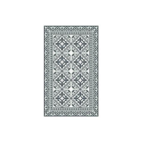 Beija Vinyl Floor Runner - beija flor vinyl flor de lis grey runner