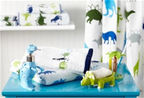 Dinosaur Bathroom Accessories One Dinosaur Bathroom Accessories My Frugal