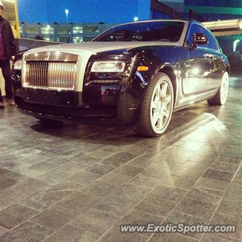 rolls royce ghost spotted in las vegas nevada on 10 02 2014