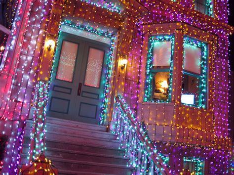 christmas lights that shine on house beautiful brilho christmas girlie home house image