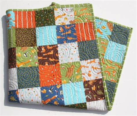 Woodland Friends Crib Bedding by Last One Forest Friends Quilt Baby Boy Bedding Crib