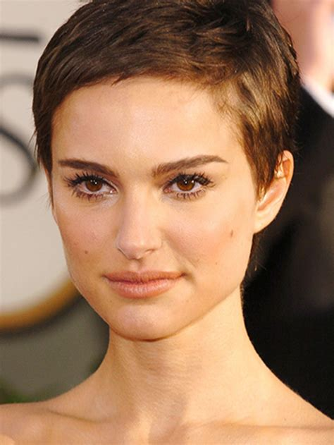 image result for natalie portman short hair hair natalie portman short hair fine hair pixie