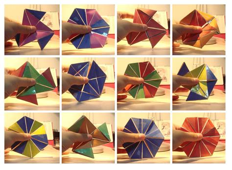 How To Make A Flexagon Out Of Paper - how to make a flexagon out of paper 28 images