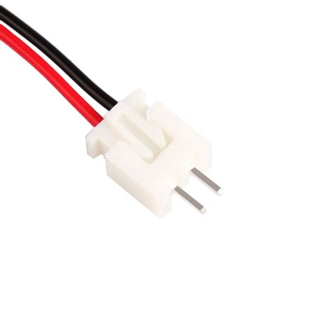 Connector Xh 2 Pin Untuk Kabel 10 sets jst xh 2 5 2 pin battery connector with 120mm wire ebay