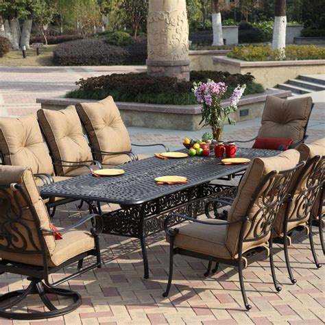 outdoor dining room furniture patio set singapore modern patio outdoor