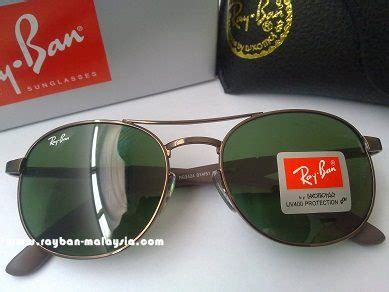 Kacamata Rayban Aviator 3026 Glass Black Pria Murah Gaya ban model rb 3424 sunglasses malaysia oakley ban malaysia