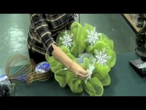 geo mesh wreath instruction video youtube