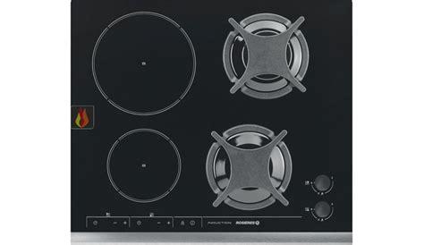 plaque induction 1 foyer table de cuisson mixte gaz induction 57 cm encastrable