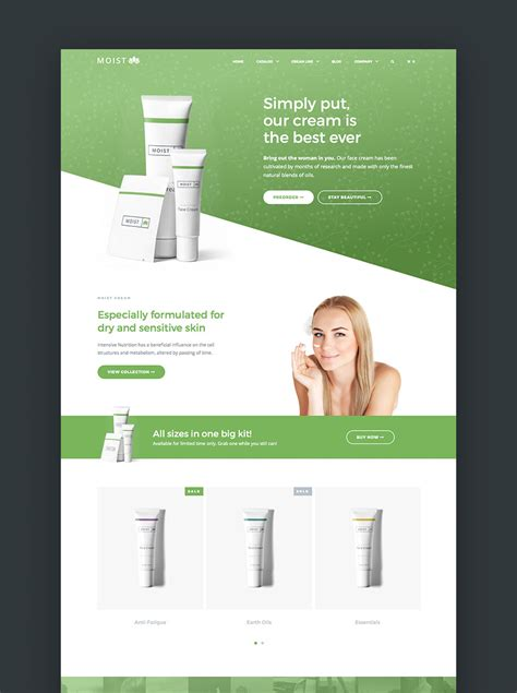 20 Best Shopify Themes With Beautiful Ecommerce Designs Single Product Ecommerce Website Template