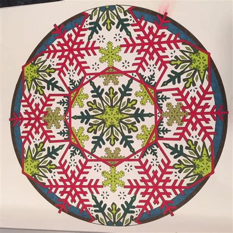 libro creative haven snowflake mandalas 273 best influential images on coloring coloring books and coloring pages