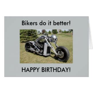 printable birthday cards with motorcycle motorcycle cards invitations zazzle co uk