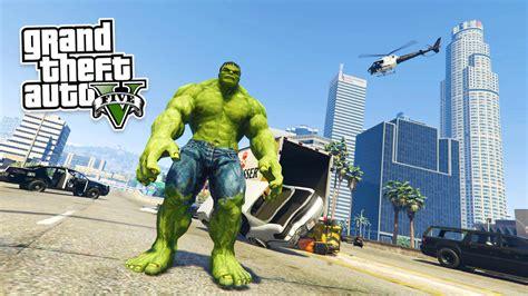 Mod Gta 5 Pc Hulk | gta 5 pc mods ultimate hulk mod hulk vs hulk gta 5