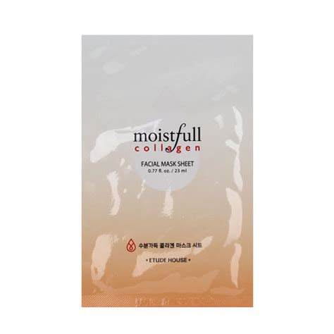 Etude Mask etude house moistfull collagen mask sheet etude