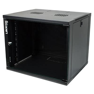9u Comms Cabinet 9u 19 Quot Network Cabinet Rack Wall Mounted 540 450mm Black