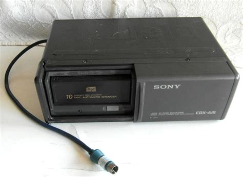 Cd Changer Cartech 10 Cd sony 10 disc magazine mobile cd auto changer cdx a15 untested ebay
