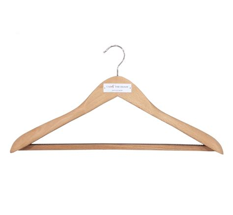Wooden Cloth Hanger New cad the dandy wooden suit hanger set of 3 cad the dandy