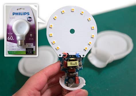 inside led light bulb inside philips slimstyle led bulb notcot