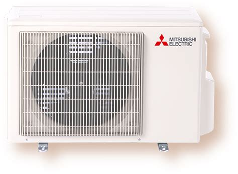 mitsubishi electric cooling and heating single zone cooling and heating outdoor units mitsubishi