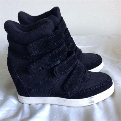 64 aldo shoes aldo sneaker wedges in black from