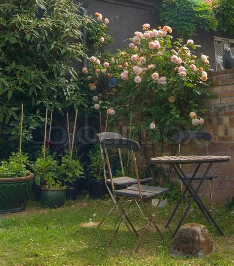 pleasant shadow romantic outdoors  peaceful patio