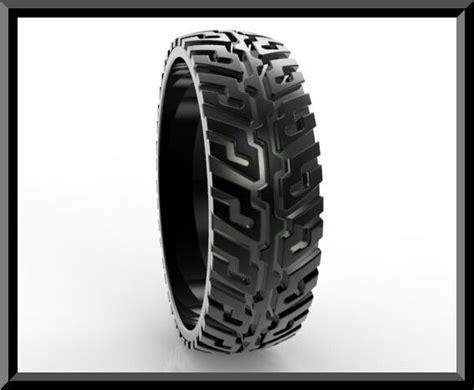motorcycle tire wedding ring cool stuff