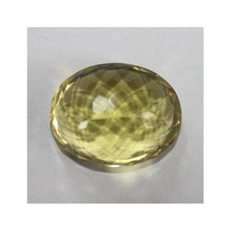Berlian Warna Unik Greenish Yellow Stengah Ct jual permata quartz alami berbentuk oval cut 20 83 carat