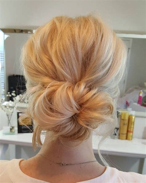 Wedding Hair Simple Bun by 100 Most Pinned Beautiful Wedding Updos Like No Other