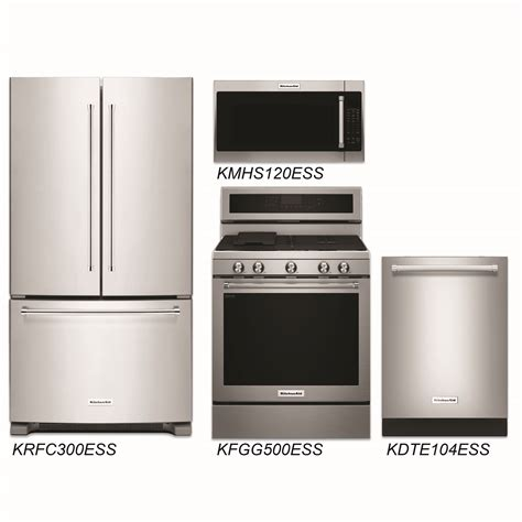 cheap kitchen appliance discount package kitchenaid 4 stainless steel